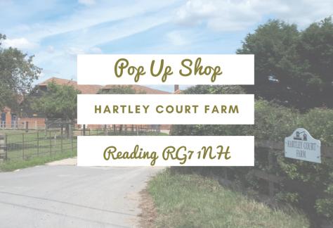 Hartley Court Farm pop up shop