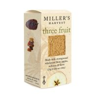 Millers Harvest three fruit cheese biscuit crackers