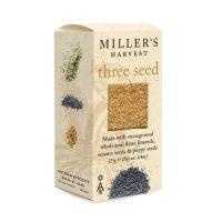 Millers Harvest Three Seed cheese biscuit crackers