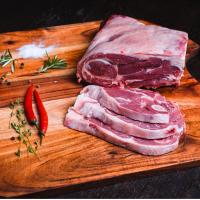 Goat shoulder meat joint